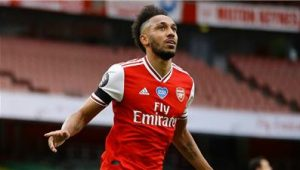 Aubameyang Scored Hat-trik Against Leeds