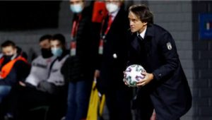 Mancini Maintains Perfect Italy Record